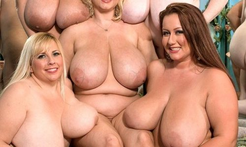 Gros nichons de jolies femmes rondes nues