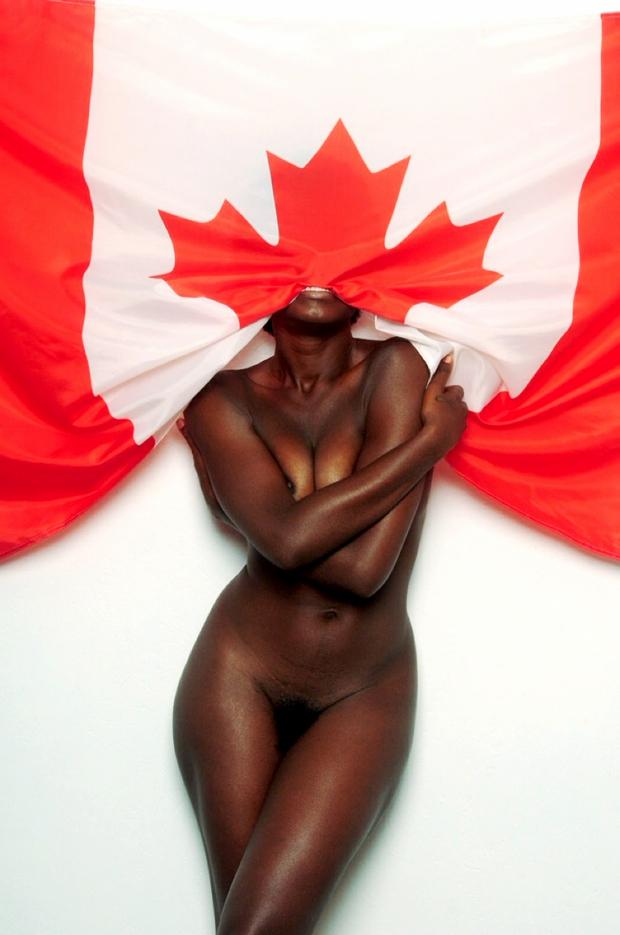 Plan cul avec une noire du Canada