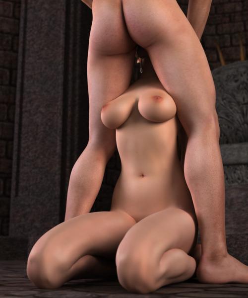 Jeune suceuse à gros seins